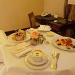 Essen auf dem Zimmer