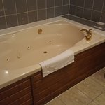 Double sized Jacuzzi bath in Room 2a!