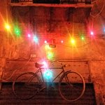 Via delle biciclette a Natale