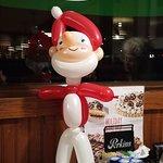 Balloon Santa!