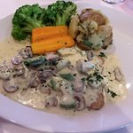 Veal in Cream Sauce