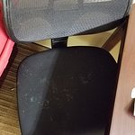 chair not clean!