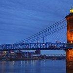 One of the great suspension bridges in America...