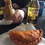 Empanadas with Corona