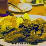 Evan's T-Bone Steak