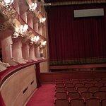 Parte sinistra del teatro