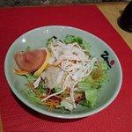Salade japonaise du menu a 9€50 et 11€50 (uniquement le midi)