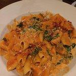 rigatoni with San Remo sauce