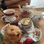 Yummy cream tea