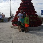Fort Myers Beach Christmas tree