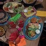 Festive dinner table...