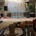 Breakfast and inside