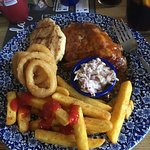 Kings Head Beccles. Chicken and Ribs Combo.