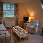 Cream Suite upstairs sitting room/bedroom in the case of triple occupancy