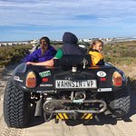 Beach Buggy Tour with our host Deon