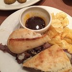 Nordstrom French Dip with roasted potatoes