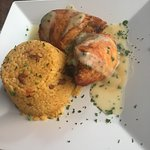 chicken stuffed with sweet plantains ( can't remember the exact name of the menu)