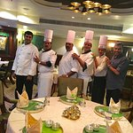 With the Dakshin Chef Brigade