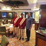 With Umashish & Srinivas