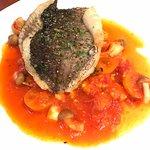 Oven baked barramundi 😘😘 My favorite here 😋