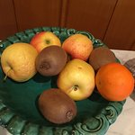 dried up fruits being offered for breakfast. instead we bought fresh ones from supermarket in to