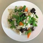 Stir Fried Sea Snail with Season Vegs
