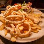 Salt and Pepper Calamari entree
