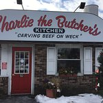 Charlie the Butcher's Kitchen - front door