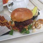 BBQ Chicken Crunch Burger