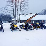 Snowmobiles Are Welcome!