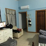 Good value and conveniently close to airport and beach. Staff was friendly and very accommodatin