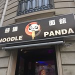 The entryway into Noodle Panda