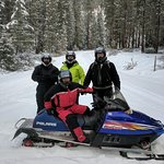 Snowmobile trip was awesome. We went 50 miles in 4 hours.