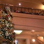 Lobby with Christmas Tree