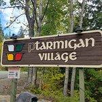 Ptarmigan Entry Sign
