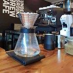 Coffee in process