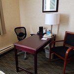 Comfortable work space in all guest rooms