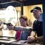 Virtual handgun range instruction is realistic, safe and excellent training.