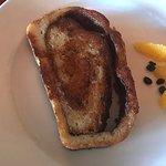 Fantastic GF cinnamon roll French toast
