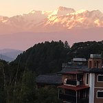 Sunset view from Old Inn patio - Bandipur, Nepal