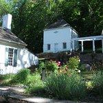 garden and smokehouse