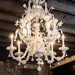 Venetian Chandelier at Bacaro NYC, Heather Waraksa-Photographer
