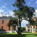 Melrose built in 1848. Part of the Natchez National Historical Park of the National Park Service