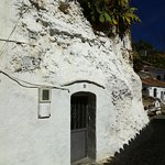 "entrance into a Sacromonte ""cave home"""