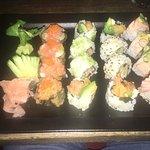 Sushi au top