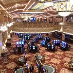 View of casino from upper level.