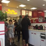 Inside of In-N-Out, Tustin