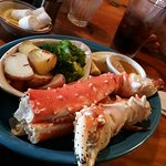 My Alaskan king crab legs. Deelish!