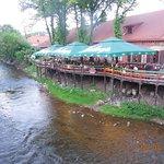Restaurantes a la orilla dl río