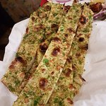 Crispy Methi Garlic and Chilly Naan